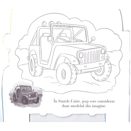 Lipeste Si Coloreaza Vehicule Jeep