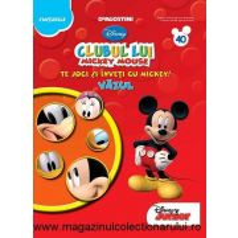 Clubul lui Mickey nr.40 - Te joci si inveti cu Mickey - Vazul