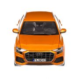 Audi Q8  2018, macheta auto scara 1:18, portocaliu metalizat, Norev