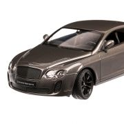 Bentley Continental Supersports 2010 , macheta auto, scara 1:24, gri metalizat, Welly