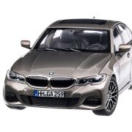 BMW 330i 2019,macheta  auto, scara 1:18, argintiu, Norev