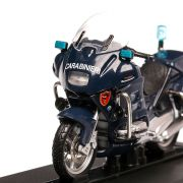 BMW R 850 RT Carabinieri, macheta motocicleta scara 1:24, albastru inchis, Magazine Models
