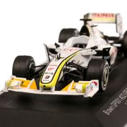 Brawn BGP 001 #22 J.Button Brasilien GP World Champion F1 2009, macheta auto, scara 1:43, alb, CMR