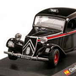 Citroen Traction Avant Madrid Taxi 1955, macheta Taxi scara 1:43, negru, Atlas