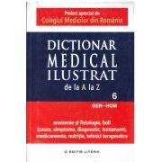 Dictionar medical ilustrat de la a la z - vol.6