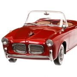 Fiat 1100 TV Trasformabile 1955, macheta  auto, scara 1:18, visiniu metalizat, BoS-Models