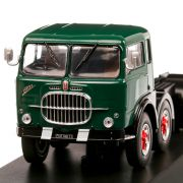 Fiat 690 T1 1961, macheta camion, scara 1:43, verde cu negru, IXO