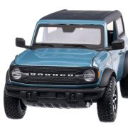 Ford Bronco Badlands 2021, macheta auto scara 1:24, bleu cu negru mat, Maisto