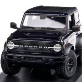 Ford Bronco Wildtrak 2021, macheta auto scara 1:18, albastru inchis metalizat, Maisto