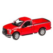 Ford F-150 2015 macheta auto scara 1:24, rosu, Welly