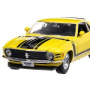 Ford Mustang Boss 302 1970, macheta auto, scara 1:24, galben, Welly