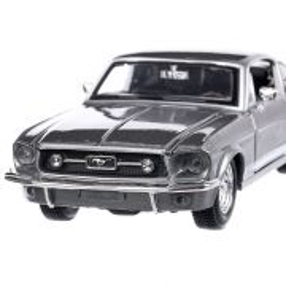 Ford Mustang GT 1967, macheta auto, scara 1:24, gri, Maisto