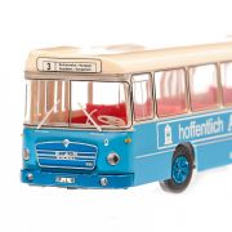 MAN 750 HO M11A 1974, macheta auto, scara 1:87, albastru cu crem, MC
