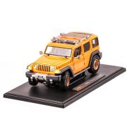 JEEP Grand Cherokee Rescue Concept, macheta auto scara 1:18, portocaliu, window box, Maisto