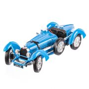 Bugatti Type 59 1934, macheta auto scara 1:18, albastru, window box, Burago