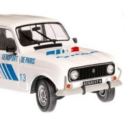 Renault 4L GTL Air France 1978 macheta auto scara 1:18, alb, window box, Solido