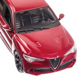 Alfa Romeo STELVIO, macheta auto scara 1:24, visiniu, window box, Bburago