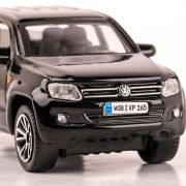 Volkswagen Amarok, 2011, scara 1:43, negru, BBurago