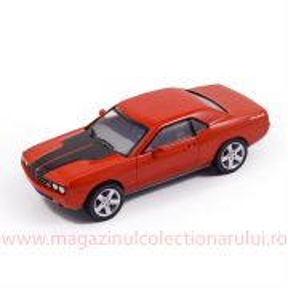 Dodge Challenger 2007, macheta auto, scara 1:43, rosu, New Ray