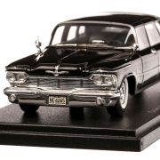 Imperial Crown Ghia Sedan 1958, macheta auto, scara 1:43, negru, Neo