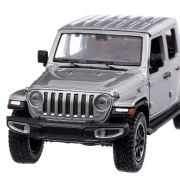Jeep Gladiator Overland 2021, macheta  SUV,  scara 1:24, argintiu, Motor Max