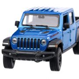 Jeep Gladiator Rubicon 2020, macheta suv, scara 1:27, albastru metalizat, Welly