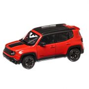 Jeep Renegade Trailhawk 2018, macheta auto, scara 1:24, portocaliu, Welly
