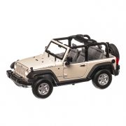 Jeep Wrangler Rubicon 2007 , macheta auto, scara 1:24, alb, Welly