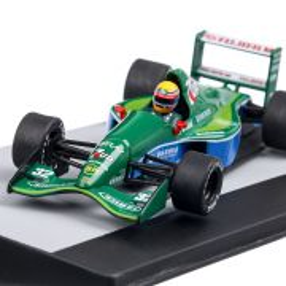 Jordan Ford 191 #32 Roberto Moreno P10 Italia GP 1991, macheta F1 scara 1:43, verde, Atlas