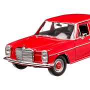 Mercedes-Benz 220 (W115) 1968, macheta auto, scara 1:24, rosu, Welly