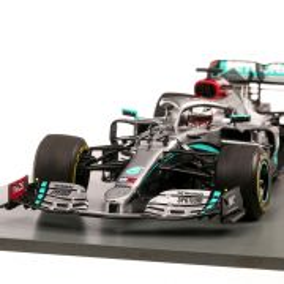 Mercedes-Benz AMG Petronas Motorsport F1 W11 EQ Power+ #44 Lewis Hamilton Barcelona Test 2020, macheta  auto, scara 1:18, argintiu, Spark