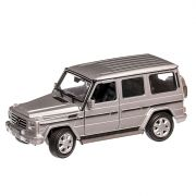 Mercedes-Benz G Class 2009, macheta auto, scara 1:24, argintiu, Welly