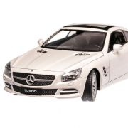 Mercedes-Benz SL 500 2012, macheta auto, scara 1:24, alb, Welly