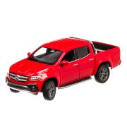 Mercedes X-Class 2020, macheta auto, scara 1:27, rosu, Welly