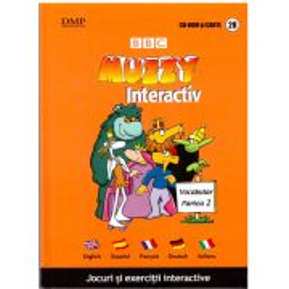 BBC Muzzy Interactiv - Jocuri si exercitii interactive vol. 28 - CD si carte