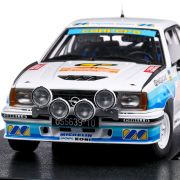 Opel Ascona 400 Rallye San Remo 1982, scara 1:18, alb cu bleu, Sun Star