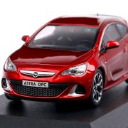 Opel Astra J GTC OPC 2019, macheta auto, scara 1:43, rosu, Motorart
