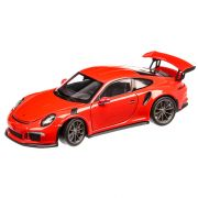 Porsche 911 (991) GT3 RS 2015, macheta auto, scara 1:24, portocaliu, window box, Welly