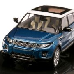 Range Rover Evoque 5 usi 2017, macheta auto, scara 1:43, albastru, Dealer