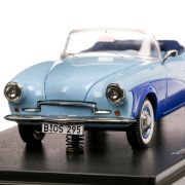 Rometsch Lawrence Convertible 1957, macheta  auto, scara 1:43, bleu, BoS-Models