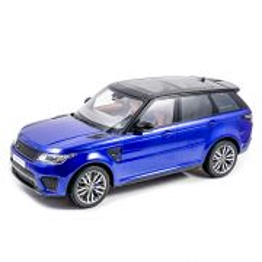Range Rover Sport SVR 2018, macheta auto, scara 1:18, albastru metalizat, Kyosho