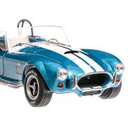 Shelby AC Cobra 427 MKII, 1965 macheta auto scara 1:18, albastru metalizat, window box, Solido