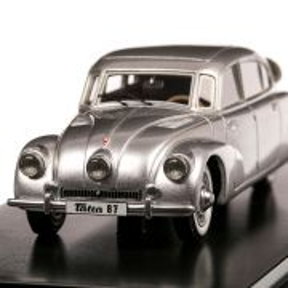Tatra 87 1940, macheta auto, scara 1:43, argintiu, Neo