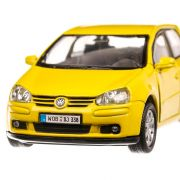 Volkswagen Golf V, macheta  auto, scara 1:36, galben, Welly