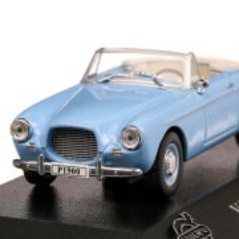 Volvo P1900 Sport Cabrio 1956, macheta auto scara 1:43, bleu, Atlas