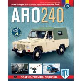 Macheta ARO 240 kit construibil Eaglemoss nr. 69