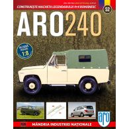 Macheta ARO 240 kit construibil Eaglemoss nr. 52 - coperta