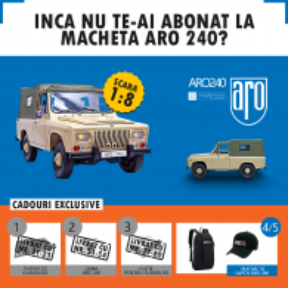 Abonament Revista ARO 240 pachetul nr. 22 - nr. 90, 91, 92, 93 si 94