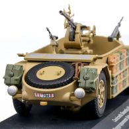 AS42 Sahariana 1943 Camioneta desertica, macheta vehicul militar, scara 1:43, camuflaj nisip, Magazine Models