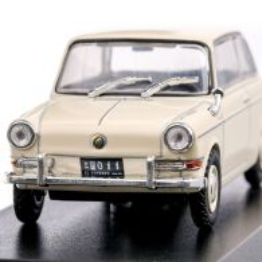 BMW 700 (De Carlo 700) 1960, macheta  auto, scara 1:43, crem, Magazine Models